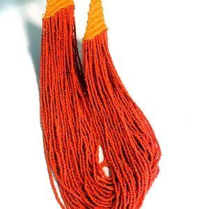 Vintage African Multi Strend Handmade Necklace